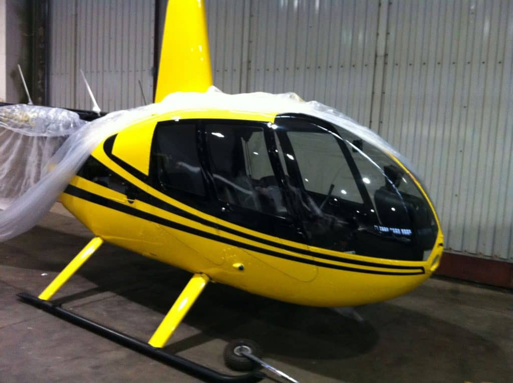 Lackierung Helikopter